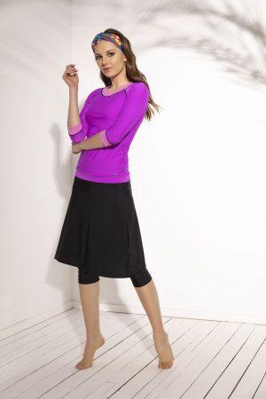 חולצה עם חזייה וחצאית עם טייץ פנימי 2
