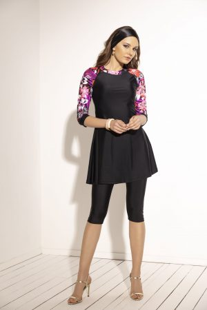 שמלה עם חזיה מובנית וטייץ 1