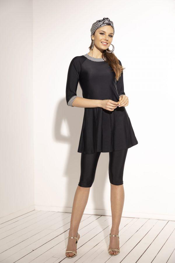 שמלה עם חזיה מובנית וטייץ 6